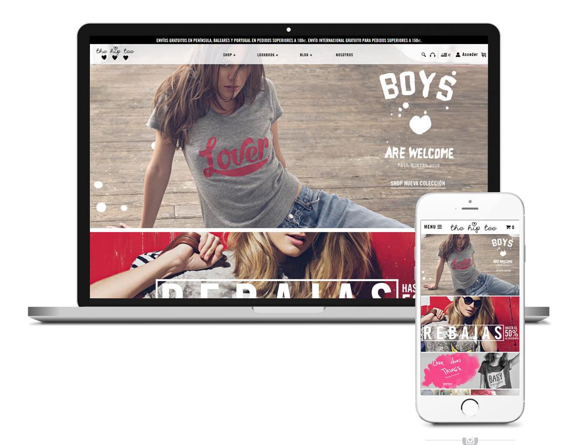 Imagen de la web de The Hip Tee 2015
